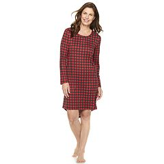 Women's Croft & Barrow® High-Low Sleepshirt
