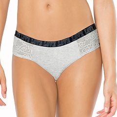 Juniors' SO® 'Love' Lace Cheeky Panty