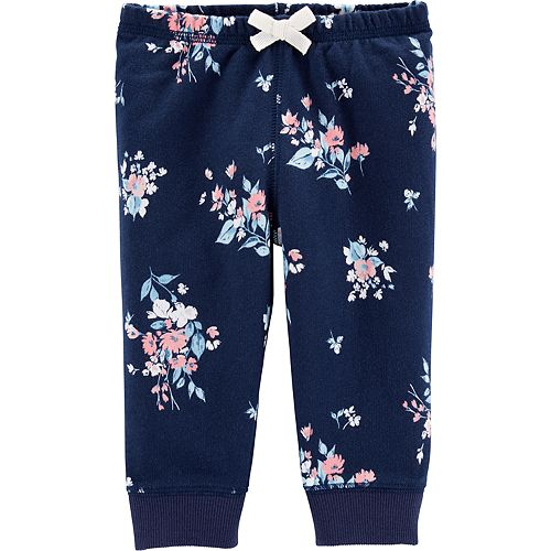 Carters French Terry Navy Pants NAVY 12 Mo