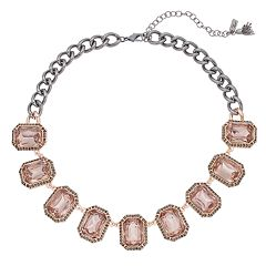 Simply Vera Vera Wang Pink Statement Necklace