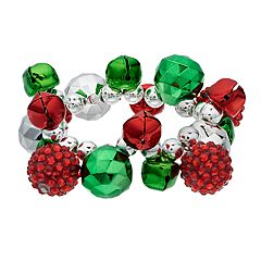 Christmas Bell Stretch Bracelet