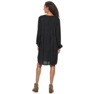 Women's SONOMA Goods for Life? Pintuck Challis Dress