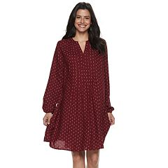 Women's SONOMA Goods for Life™ Pintuck Challis Dress