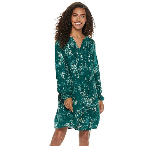 d2f38af7703 Women s SONOMA Goods for Life™ Pintuck Challis Dress