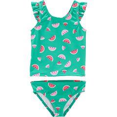 Baby Girl OshKosh B'gosh® Watermelon Tankini Top & Bikini Bottoms Set