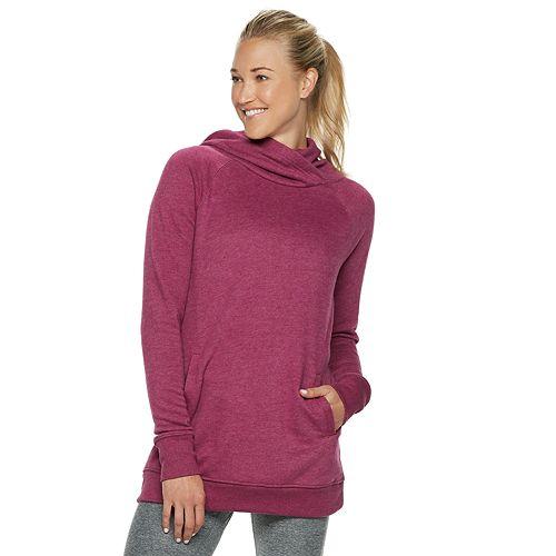 c953ea14d81 Women s Tek Gear® Ultrasoft Fleece Hooded Tunic