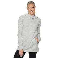 Women's Tek Gear® Fleece Raglan Tunic Hoodie