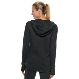Women's Tek Gear® Ultrasoft Fleece Thumb Hole Hoodie
