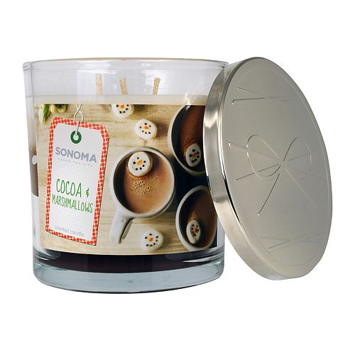 SONOMA Goods for Life™ Cocoa & Marshmallows 14-oz. Candle Jar