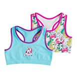 Girls 7-16 Mush 2-pack Unicorn Seamless Racerback Sports Bras