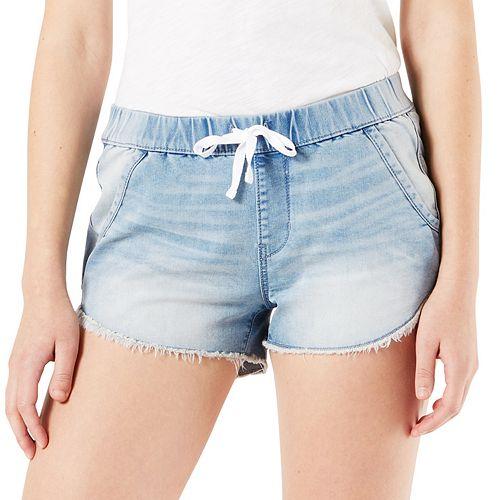 Juniors' DENIZEN from Levi's Low Rise Soft Shorts