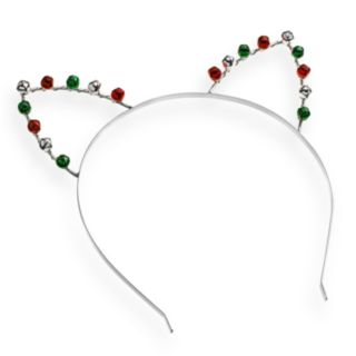 Jingle Bell Cat Ear Headband
