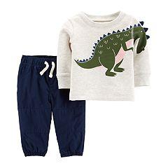 Baby Boy Carter's Dinosaur Sweatshirt & Pants Set