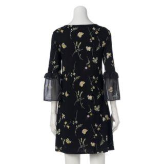 Women's LC Lauren Conrad Bell Sleeve Swing Dress
