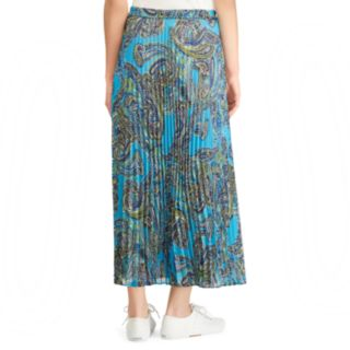Women's Chaps Floral Pleated Skirt