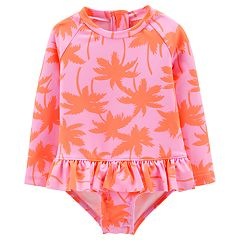 Baby Girl Carter's Palm Tree One-Piece Swimsuit