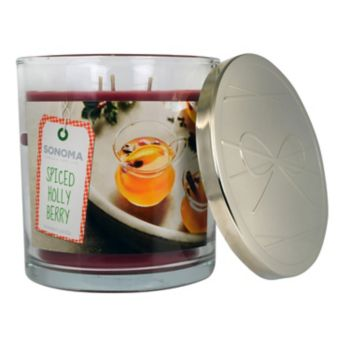 SONOMA Goods for Life? Spiced Holly Berry 14-oz. Candle Jar