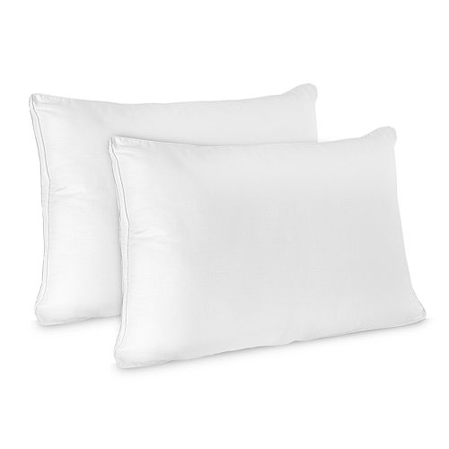 SensorPEDIC 2-pack Low Profile Flat Jumbo Pillow