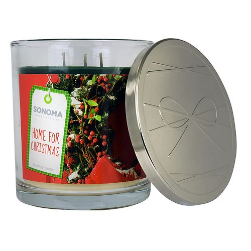 SONOMA Goods for Life™ Home for Christmas 14-oz. Candle Jar