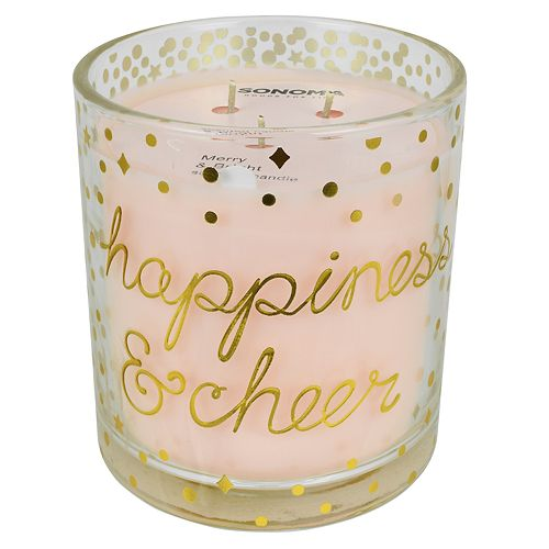 SONOMA Goods for Life™ Happiness & Cheer 14-oz. Candle Jar