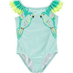 Baby Girl Carter's Parrot One-Piece Swimsuit