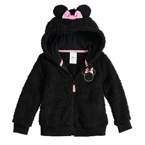 Disney's Minnie Mouse Toddler Girl Sherpa Hoodie by Jumping Beans®