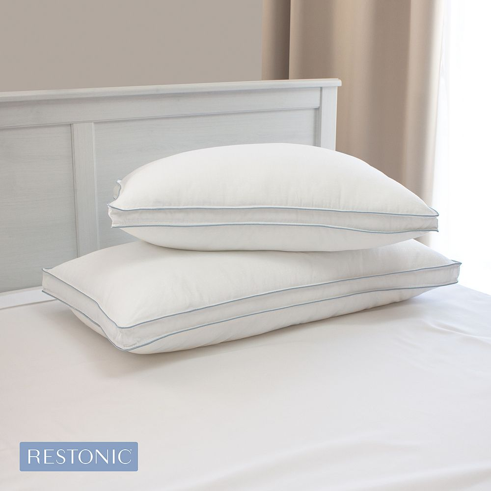 Restonic TempaGel 2-pack Max Cooling Pillow with Cooling Gel Beads