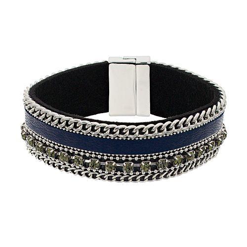 Simply Vera Vera Wang Multi Row Blue Bracelet