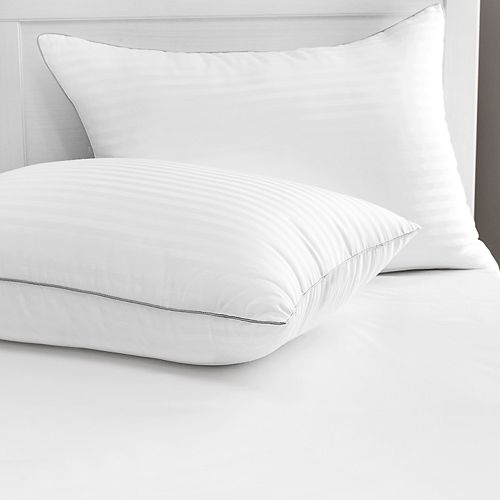 Restonic 2-pack Luxury Memory Fiber Pillow with 500 Thread Count Tencel Cover
