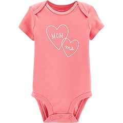 Baby Girl Carter's 'Mommy & Me' Heart Graphic Bodysuit