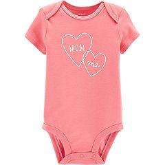 Baby Girl Carter's 'Mommy & Me' Heart Graphic Bodysuit