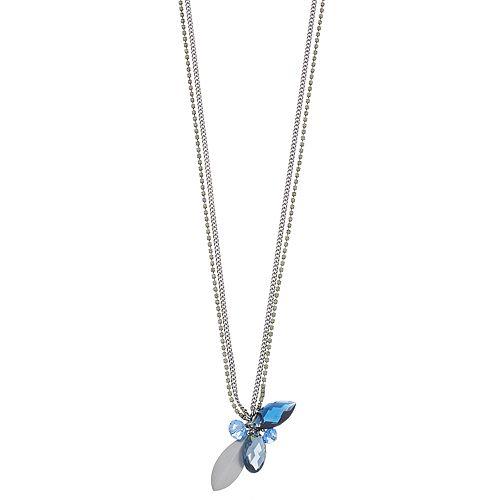 Simply Vera Vera Wang Blue Bead Cluster Pendant