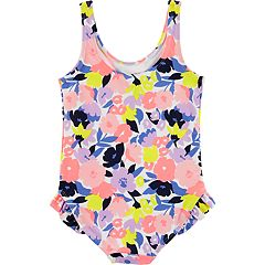Baby Girl Carter's Floral One-Piece Swimsuit