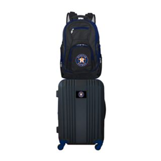 Houston Astros Wheeled Carry-On Luggage & Backpack Set