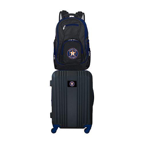 Houston Astros Wheeled Carry-On Luggage & Backpack Set