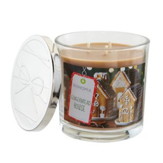 SONOMA Goods for Life? Gingerbread House 14-oz. Candle Jar