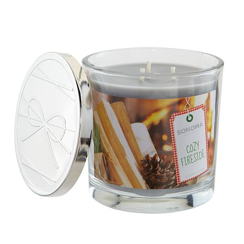 SONOMA Goods for Life™ Cozy Fireside 14-oz. Candle Jar
