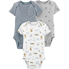 Baby Boy Little Planet Organic by Carter's 3 Pack Animal Bodysuits