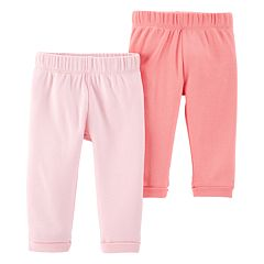 Baby Girl Little Planet Organic by Carter's 2 Pack Knit Pants