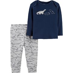 Baby Boy Little Planet Organic by Carter's Dinosaur Top & Printed Pants Set