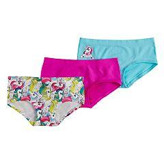 Girls 7-16 Mush 3-pack Seamless Hipster Panties