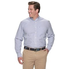 Big & Tall IZOD Premium Essentials Classic-Fit Button-Down Shirt