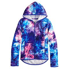 Girls 7-16 & Plus Size SO® Hooded Microfleece Jacket