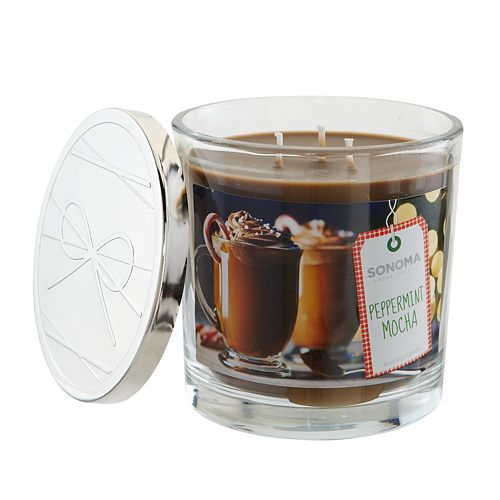 SONOMA Goods for Life™ Peppermint Mocha 14-oz. Candle Jar