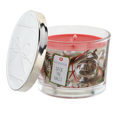SONOMA Goods for Life™ Deck The Halls 5-oz. Candle Jar