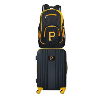 Pittsburgh Pirates Wheeled Carry-On Luggage & Backpack Set