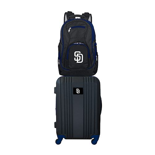 San Diego Padres Wheeled Carry-On Luggage & Backpack Set
