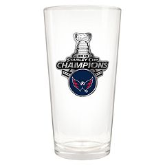 Washington Capitals 2018 Stanley Cup Champions Shaker Glass