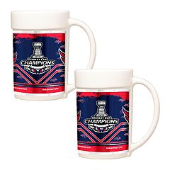 Washington Capitals 2018 Stanley Cup Champions Mug Set
