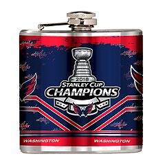 Washington Capitals 2018 Stanley Cup Champions Hip Flask